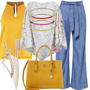 Outfit Yellow sun
