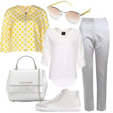 Outfit Una giornata a pois
