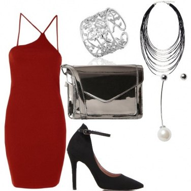 Outfit Little red dress