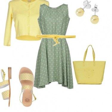 Outfit Un pois pastello