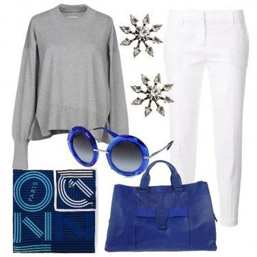 Outfit Particolari in Blu