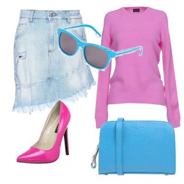 Outfit Gonna di jeans!!