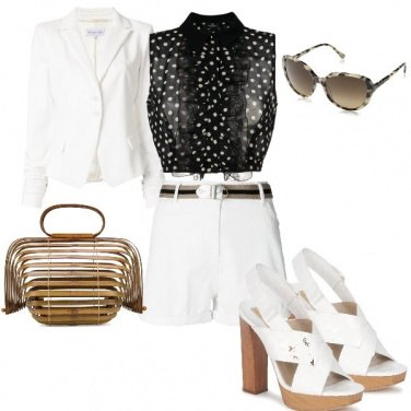 Outfit Etna a pois