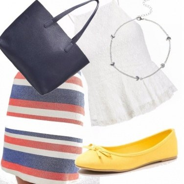 Outfit Ballerine gialle