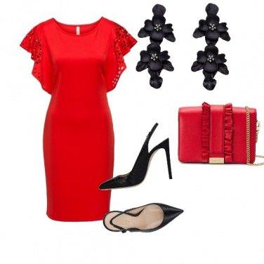 Outfit La signorina in rosso