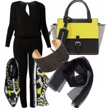 Outfit Black&yellow