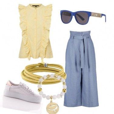 Outfit Trendy a quadretti