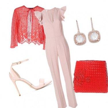 Outfit Matrimonio in rosa