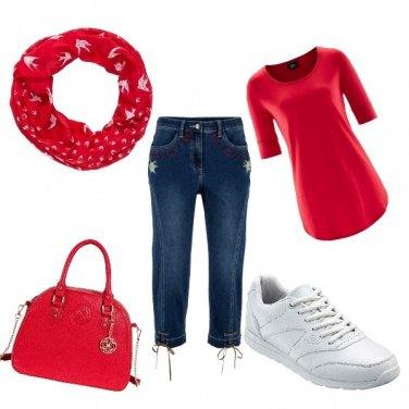 Outfit Sportiva con poco