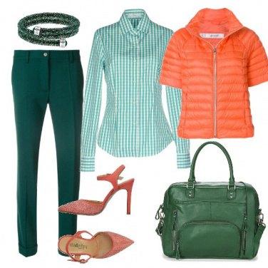 Outfit Tonalità smeraldo