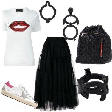 Outfit Uscita rock