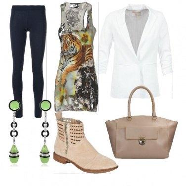 Outfit Outfit con orecchini