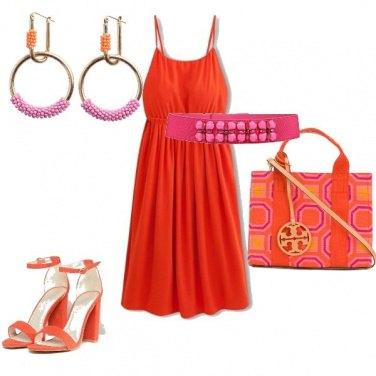 Outfit Rosa&Arancio