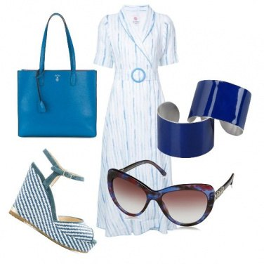 Outfit Azzurra