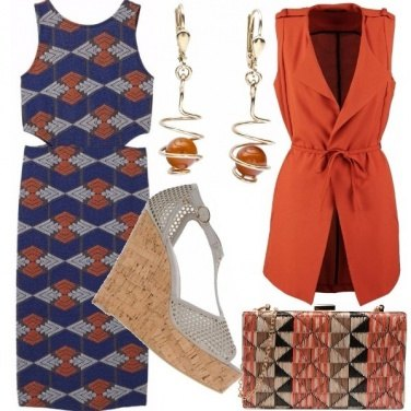 Outfit Sporty chic etnico
