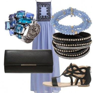Outfit Profondo blu
