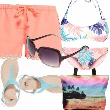 Outfit Tramonto in spiaggia