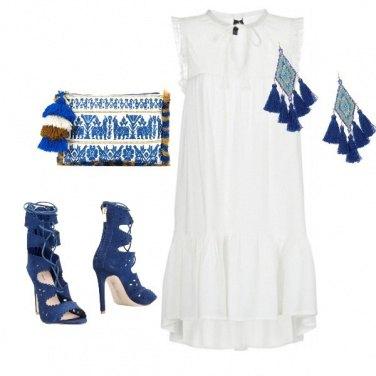 Outfit Accessori blu a Santorini