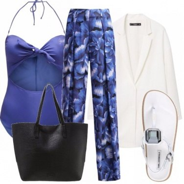 Outfit Petalo blu