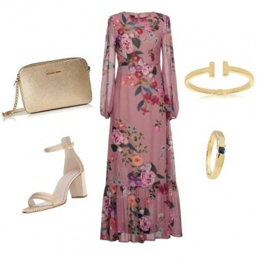 Outfit Oro floreale