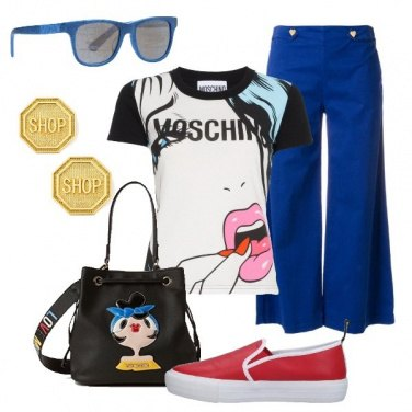 Outfit Moschino girl