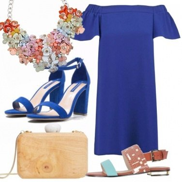Outfit Summer party- snorkel blue