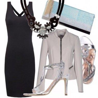 Outfit Nero e brillantini