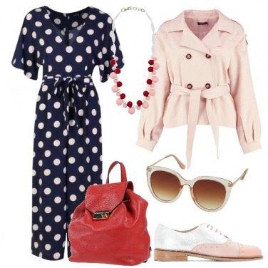 Outfit Jumpsuit a pois