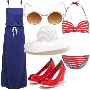 Outfit Marinière