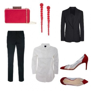 Outfit Tailleur mannish