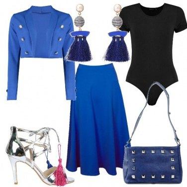 Outfit Stravaganze in blu