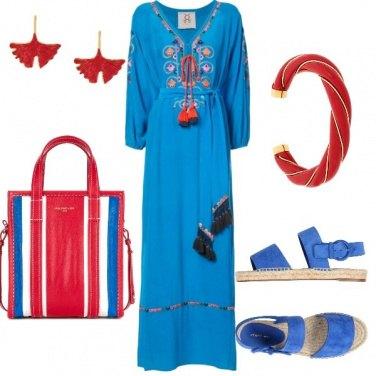Outfit Azzurro comeilmare