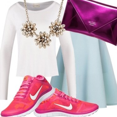 Outfit Fluo sneakers - shock your style