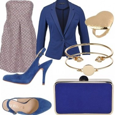 Outfit Oro&blue