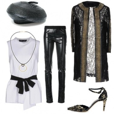 Outfit Serata d\'oro