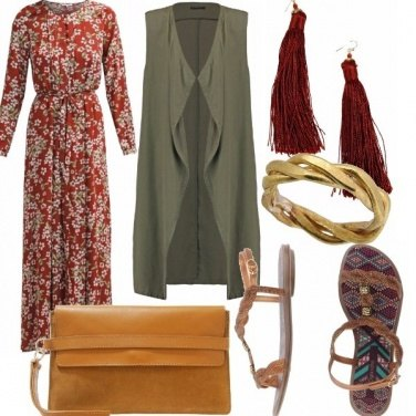 Outfit Bohemien style