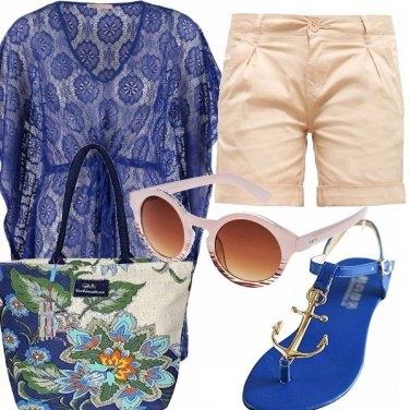 Outfit Pantone snorkel blue!