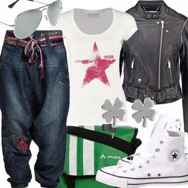 Outfit Boyfriend jeans, i jeans del fidanzato.