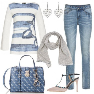 Outfit Pullover in cotone