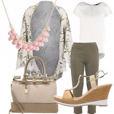 Outfit Color cream