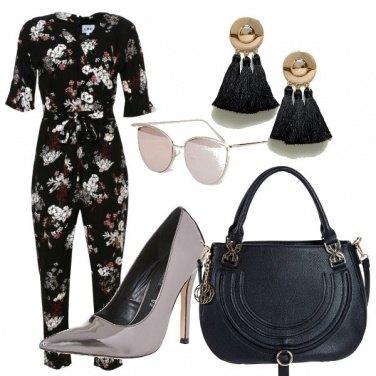 Outfit La tuta a fiori