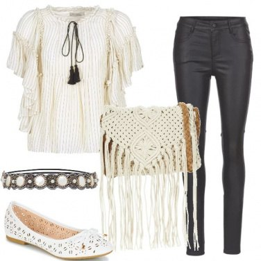 Outfit Una tracollina a crochet
