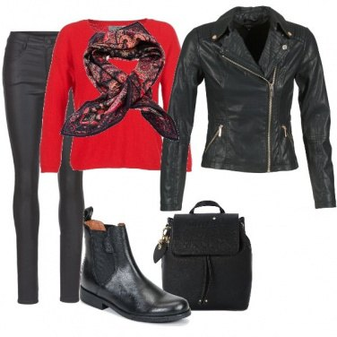 Outfit Urban Style con tocco chic
