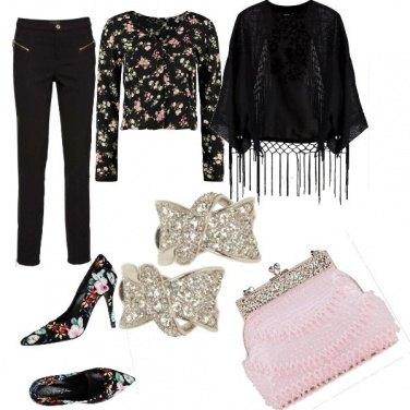 Outfit Pennellata di rosa