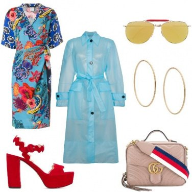 Outfit I sandali rossi