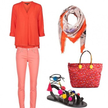 Outfit Colore vitaminico
