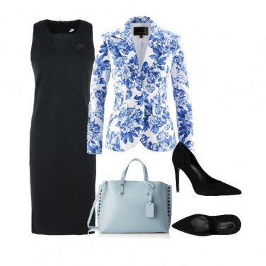 Outfit Floral print and dress