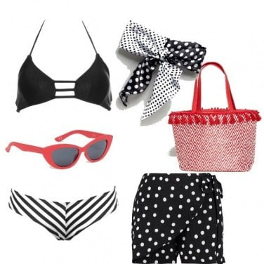 Outfit Mare a pois....