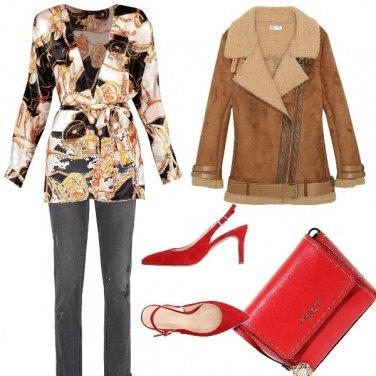 Outfit Colori caldi