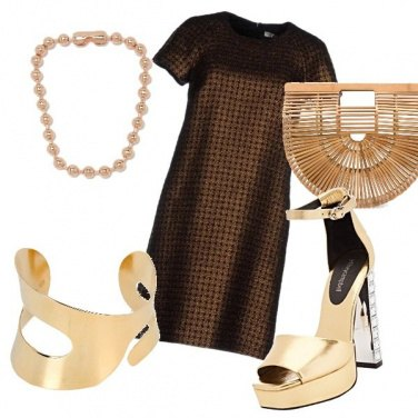 Outfit 100 sfumature d\'oro